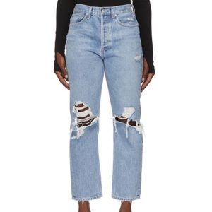 Agolde 90's distress jeans